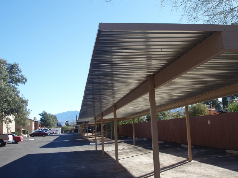 Commercial Carports Performance Steel Buildings
